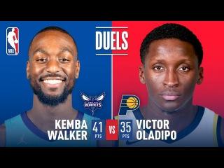 Duel In Charlotte: Kemba Walkers vs Victor Oladipo