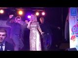 Ведущая Дом 2 Ольга Орлова выступает в одном из ночных московских клубов