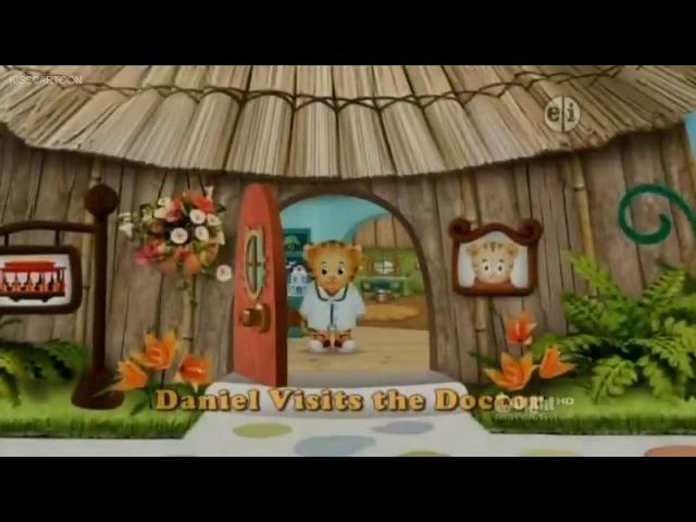 Daniel Tigers Neighborhood - Daniel Visits School - Daniel Visits The Doctor