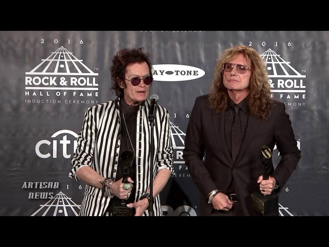 DEEP PURPLE COVERDALE, HUGHES INDUCTED INTO ROCK HALL - BLACKMORE, LONG WAIT
