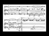 Jean Sibelius - Sonatina for Violin and Piano, Op. 80 (1915) Score-Video