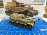Building the Tamiya 135 Elefant with zimmerit