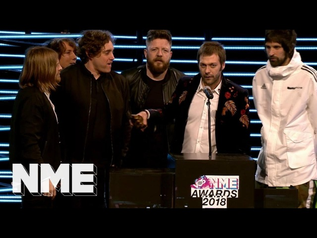 Kasabian wins Best Live Artist supported by Nikon | VO5 NME Awards 2018