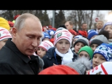 Легко ли управлять Россией: Путин в Кремле ответил на детские вопросы