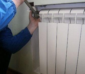 Демонтаж радиатора отопления - картинка 1