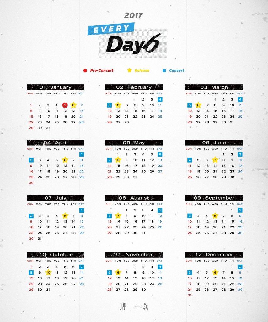 Дебютный альбом DAY6 - SUNRISE