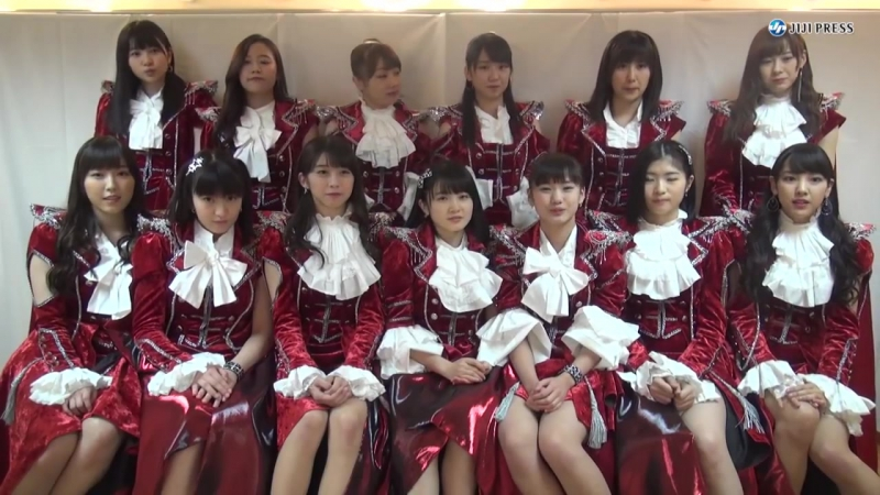 [TV] Happy New Year message from Morning Musume '18 (JiJi Press 01/01/2018)