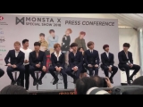 VK02.03.2018MONSTA X Press Conference HSBC Music Festival 2018 @ theseoulstory Twitter Update