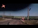 Появилось видео столкновения поезда с машиной в Уфе