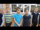 Разучивание песни Скворушка 1 А класс . Ноябрь 2017 года