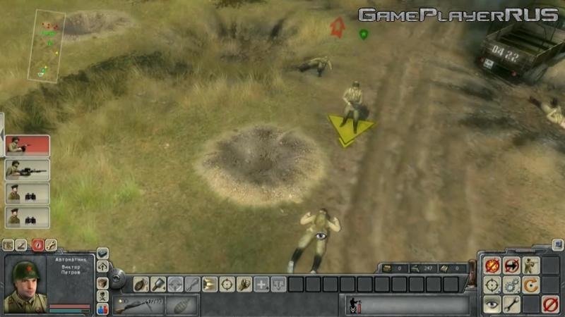 [GamePlayerRUS] Прохождение В Тылу Врага 2: Братья по Оружию - Часть 1 - Боевое крещение[1/2]