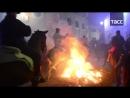 Зачем испанские всадники проходят очищение огнем