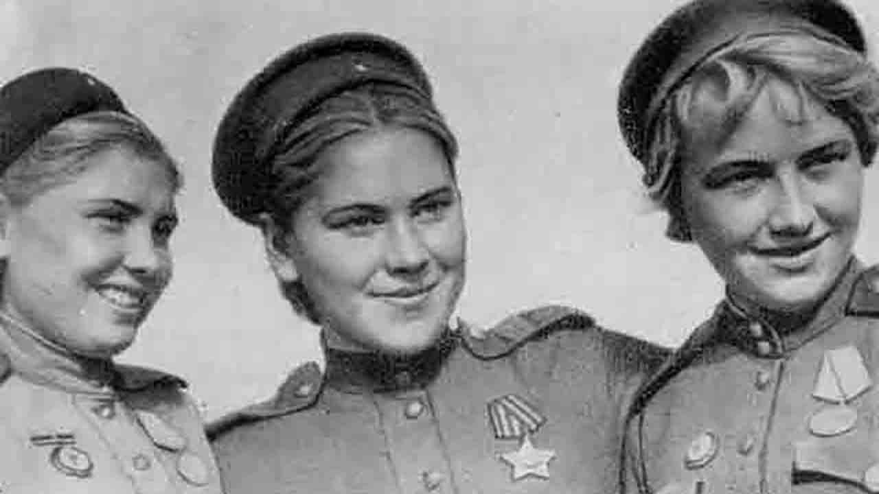 Русские женщины в Великой Отечественной войне