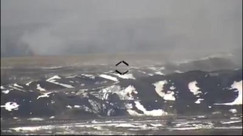 Вблизи оккупированного Докучаевска была уничтожена БМП