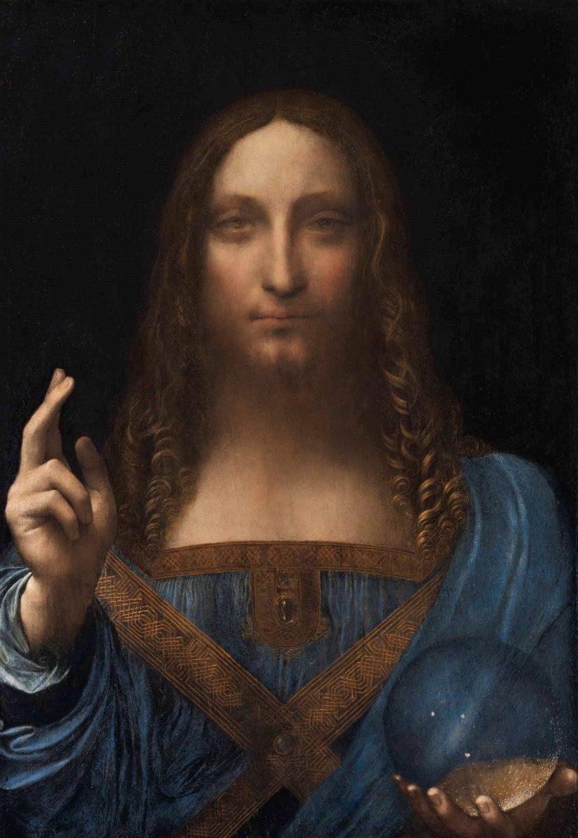 Самая дорогая картина на планете - «Спаситель Мира» Леонардо да Винчи