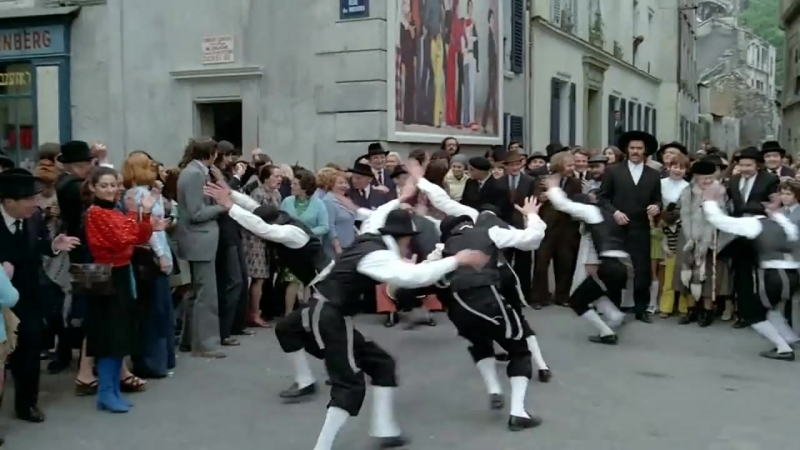 Танец раввина из фильма Приключения раввина Якова - Les Aventures De Rabbi Jacob
