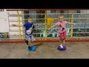 Тренировка БЕЗ роликов Учимся держать равновесие Школа Роллер Омск