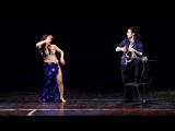 Marina Oganyan and Artem Uzunov. Solo tabla