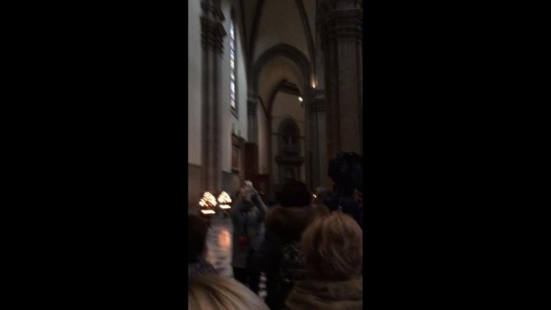 Флоренция в Соборе Санта Мария дель Фьоре