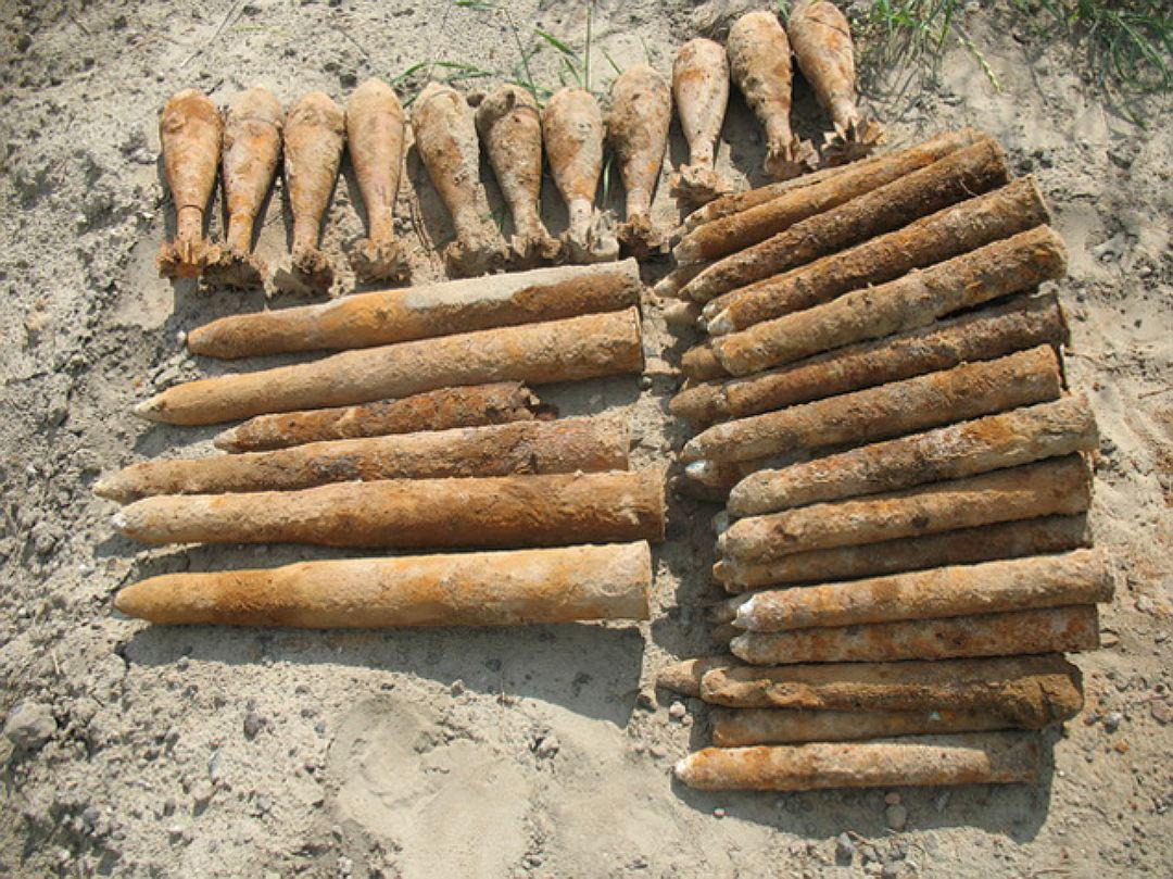 Внушительный арсенал боеприпасов обнаружен под Таганрогом