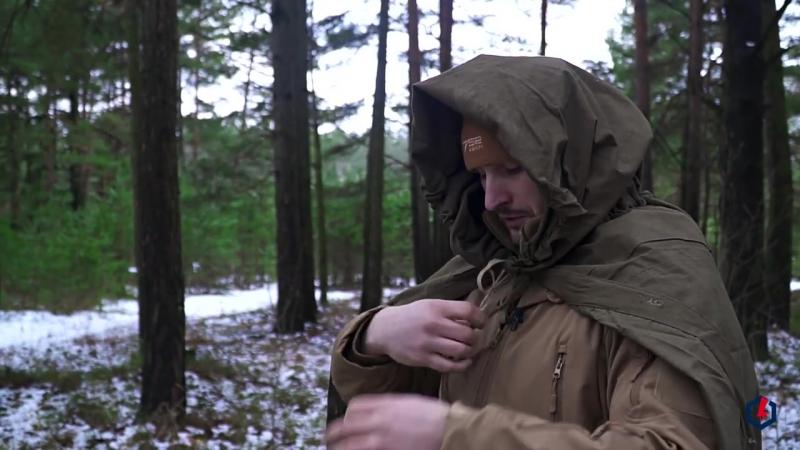 Как сделать дождевик из плащ-палатки
