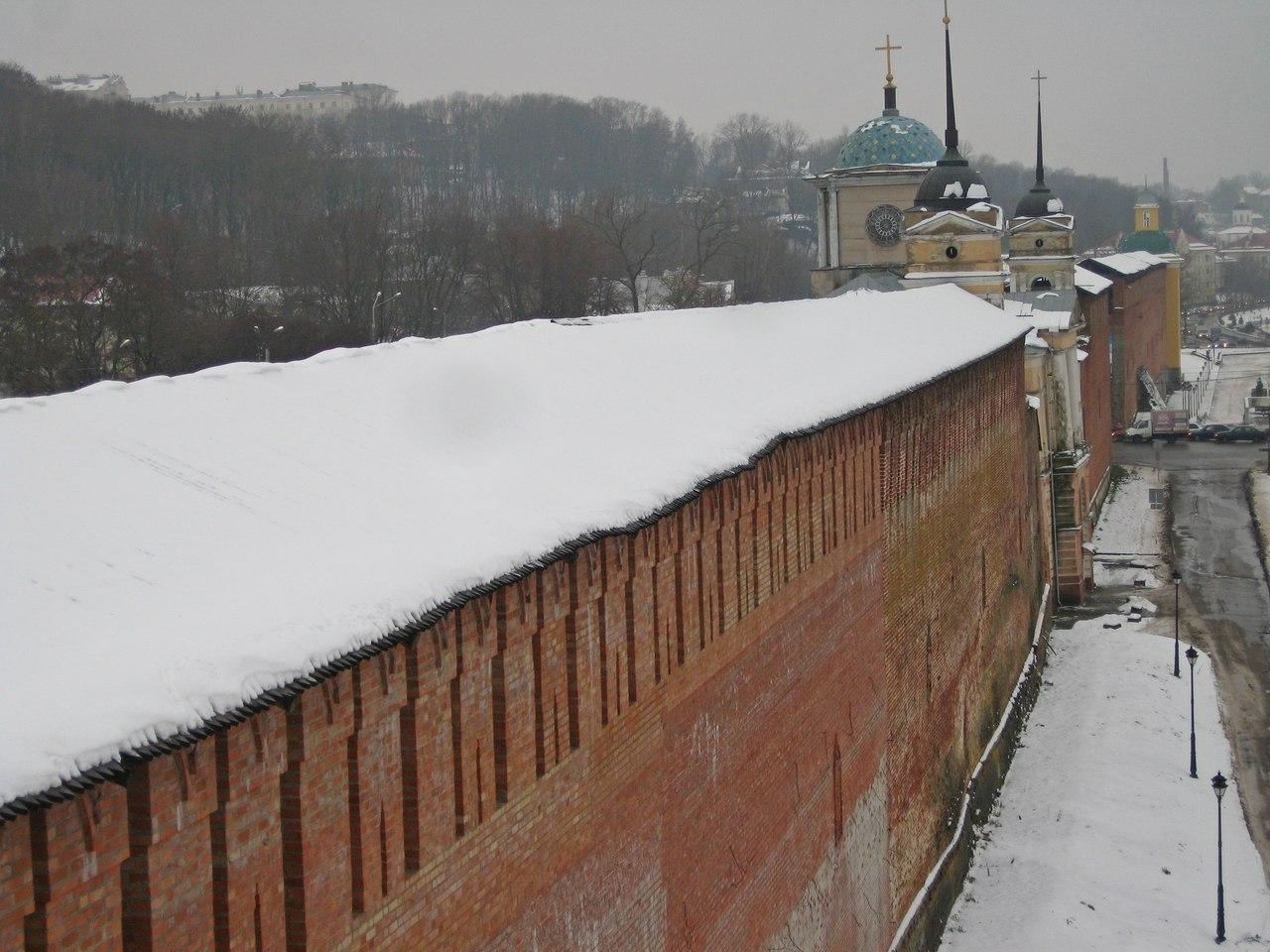 Смоленская крепость. Часть 1: Изучение стены вдоль Днепра.