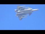 Китай J-20 Stealth Fighter с 4 подвесными топливными баками Flight Testing [720p]