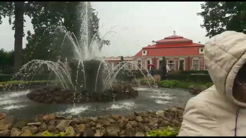 Фонтан дворец Монплезир