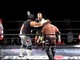 A. Onita, H. Hosaka &amp I. Yaguchi vs. J. Kasai, K. Fukimoto &amp M. Takeda Barbed Wire Board Tornado Street Fight Death Match