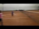 урок тенниса