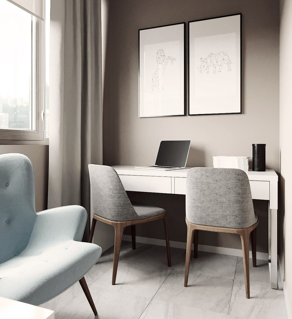 Проект квартиры в Питере от студии #Дизайн#Квартира#Заказатьдизайн