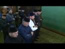Утренний намаз под руководством муфтия Чечни шейха Салаха Хаджи Межиева