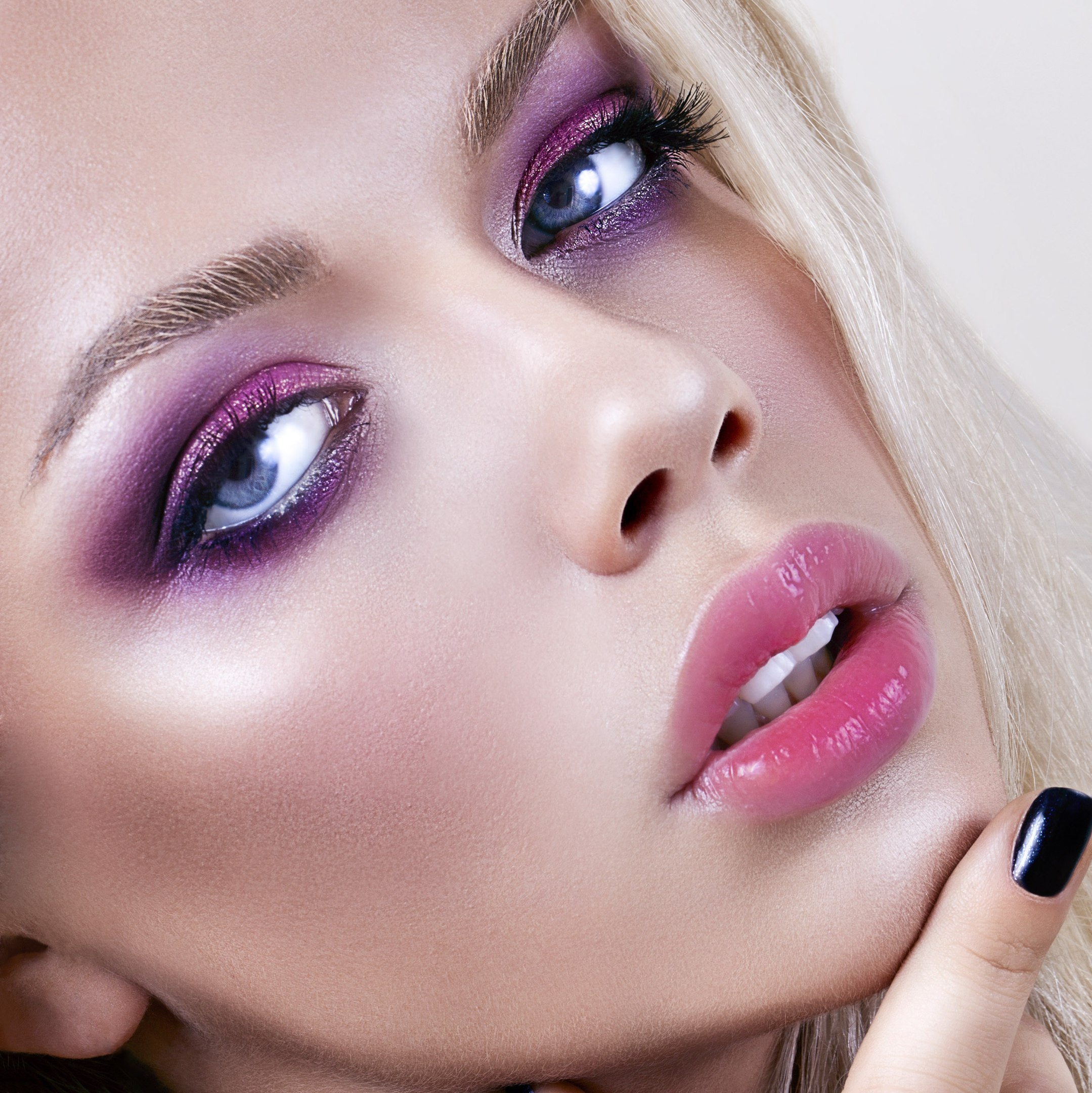 Вечерний make-up для голубоглазых