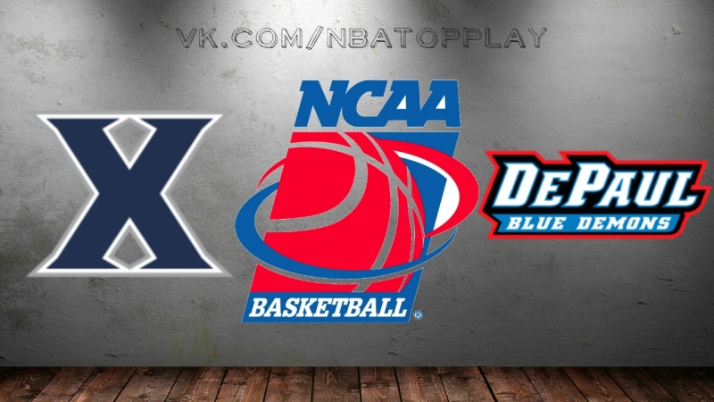 Xavier Musketeers vs DePaul Blue Demons | 03.03.2018 | NCAAM 2017-2018