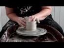 Тело кружки из шамотной глины