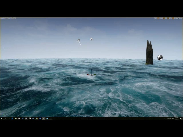 Unreal Engine 4 Gerstner Waves Livestream