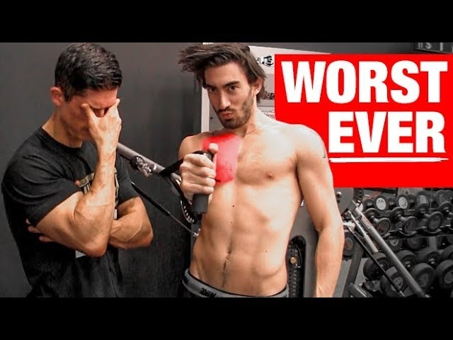 The DUMBEST Chest Exercise Ever WARNING