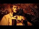 Песочная анимация Скрипка (Ксения Симонова ft.С. Копылова) - Sand art Violin by Simonova (2018)