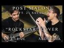 "Post Malone ""Rockstar"" METAL COVER (Andy Cizek & Nik Nocturnal)"