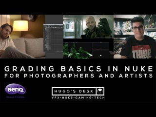 Grading basics in Nuke - for Photographers and Artists  -  A Tutorial by BenQ - UHD 4K