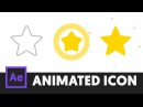 Animated Icon 4 - After Effects Tutorial (No Third Party Plugin) - T071