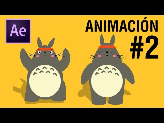 Animación de Personaje Totoro con Duik / Parte 2 /After Effects