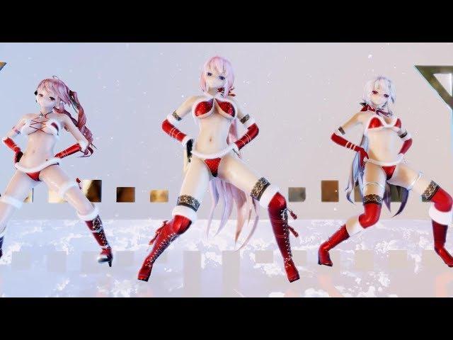 [ repuest ][ MMD ダンス ] LUKA CENTER - GENTLEMAN [ ボカロ ] 巡音ルカ / 弱音ハク / 重音テト