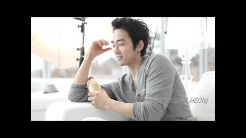 Song Seung Heon Maiim New CF Making