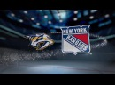 Nashville Predators vs New York Rangers - October 21, 2017   Game Highlights   NHL 2017/18 обзор