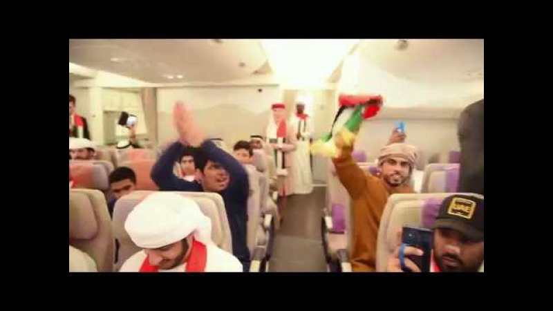 Emirates' special A380 to Kuwait for the Gulf Cup Final | Emirates