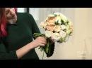 Урок по созданию круглого букета невесты