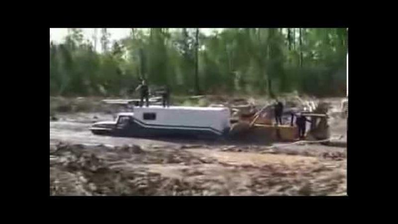 Дороги на севере России или танки грязи не боятся