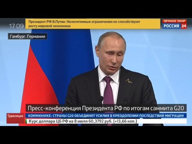 Путин о Навальном: только привлекает к себе внимание и все [Россия и Правда]