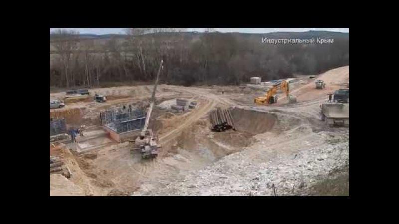 Водозаборные сооружение и прокладка газопровода под Черной речкой